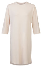 Sleeve dress with high slits