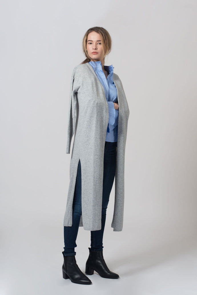 The Mischa Long Cardigan genser jobbgarderobe