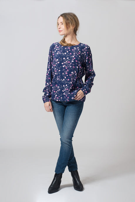 Tapestry blouse