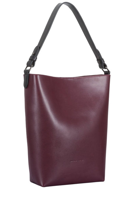 Single strap bucket style tote bag jobbveske