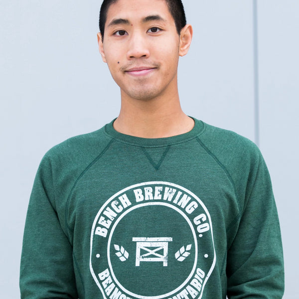 Green Crewneck Sweater
