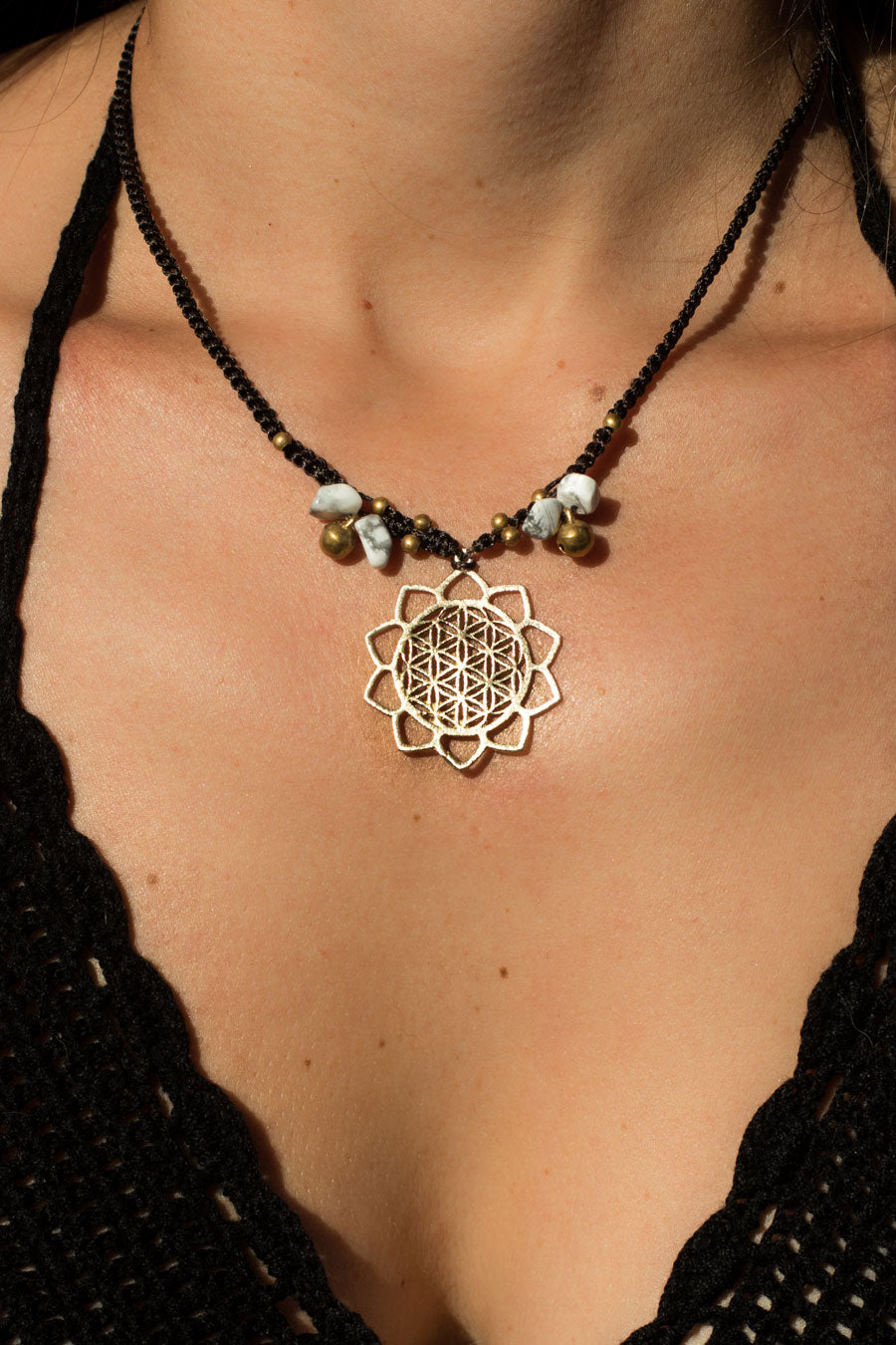 Gaia Macrame Necklace