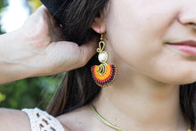 Handmade Fan Earring for women