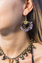 Tida Amethyst Earrings