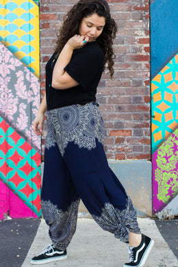 Mandala Tiger Guru Wrap Pants