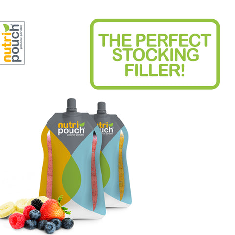 5 x 250ml Pack of Nutripouch Refill Pouches for Homemade Smoothies, Protein Shakes