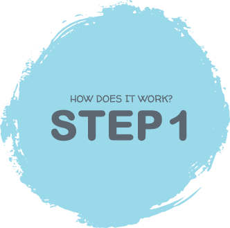 How it works - step 1