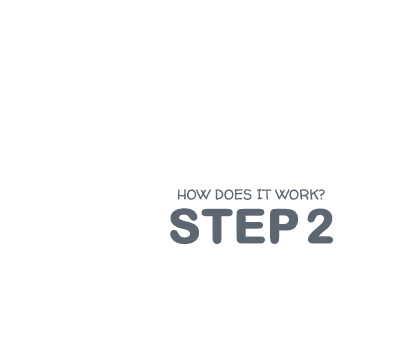 How it works - step 2