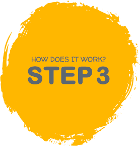 How it works - step 3