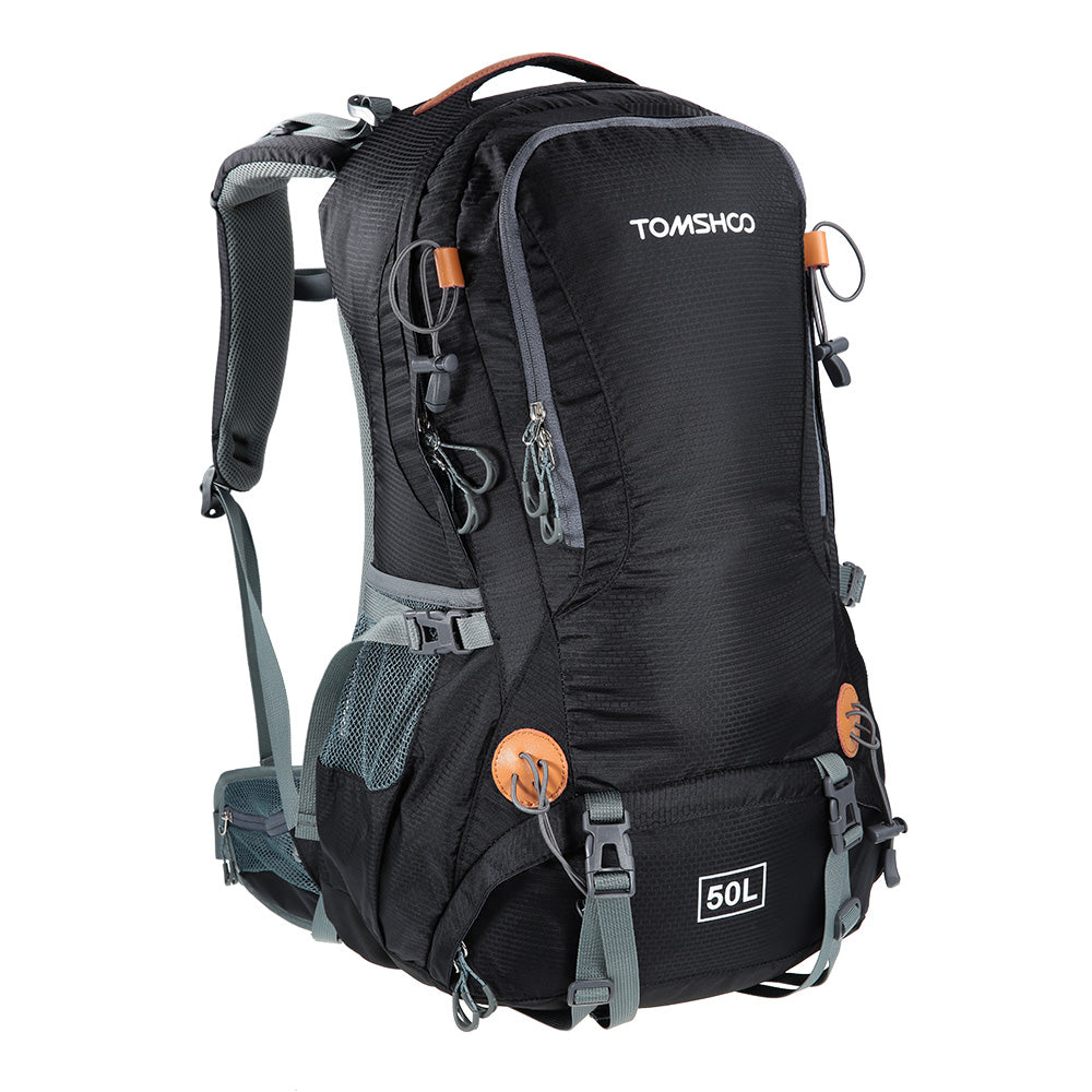 tomshoo  50L Hiking Backpack with Rain Cover - TOMSHOO – Outdoor Gear Hero