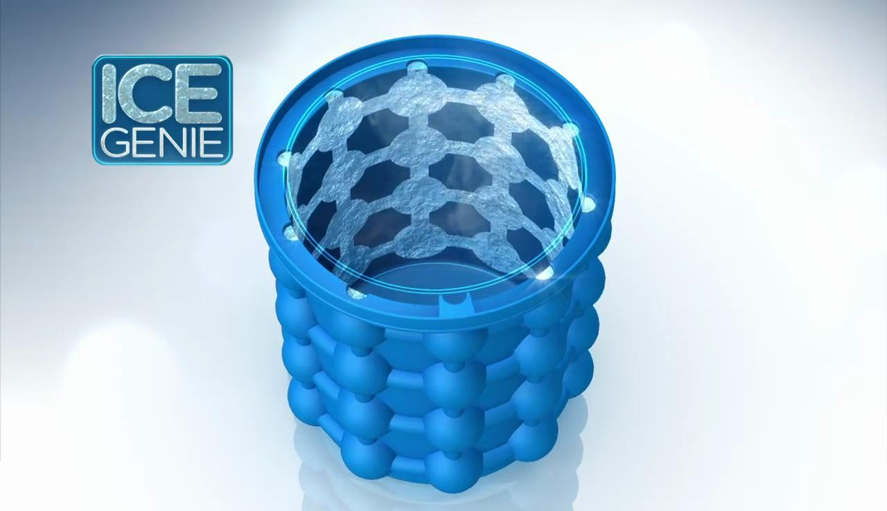 Ice Genie: Revolutionary Ice Cube Maker-Survival Apex