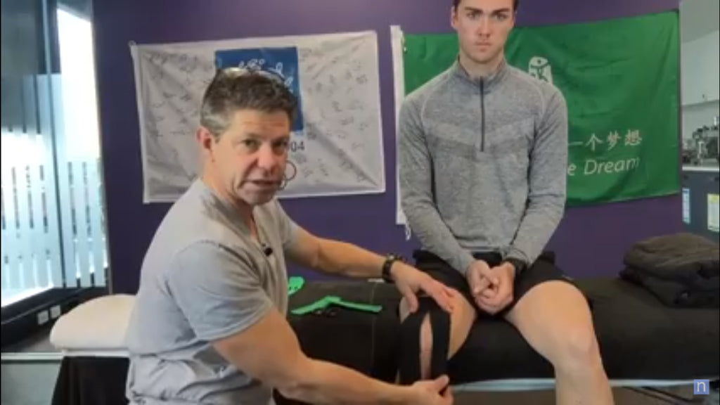 Taping Technique for Runner's Knee/PFPS