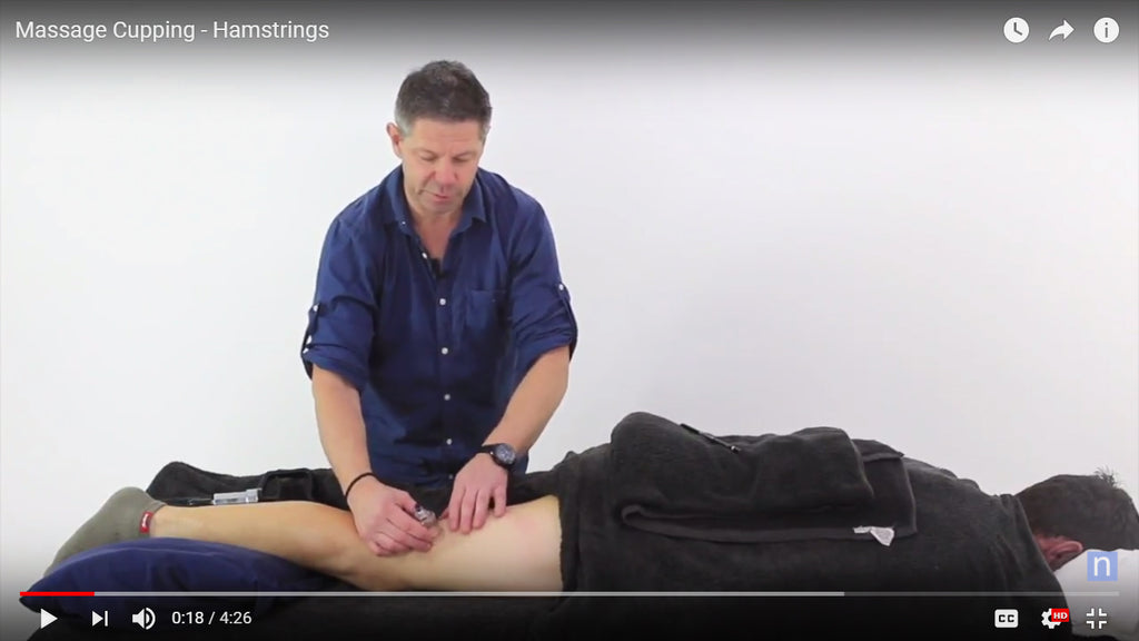 Treating the Hamstrings: Cupping Massage