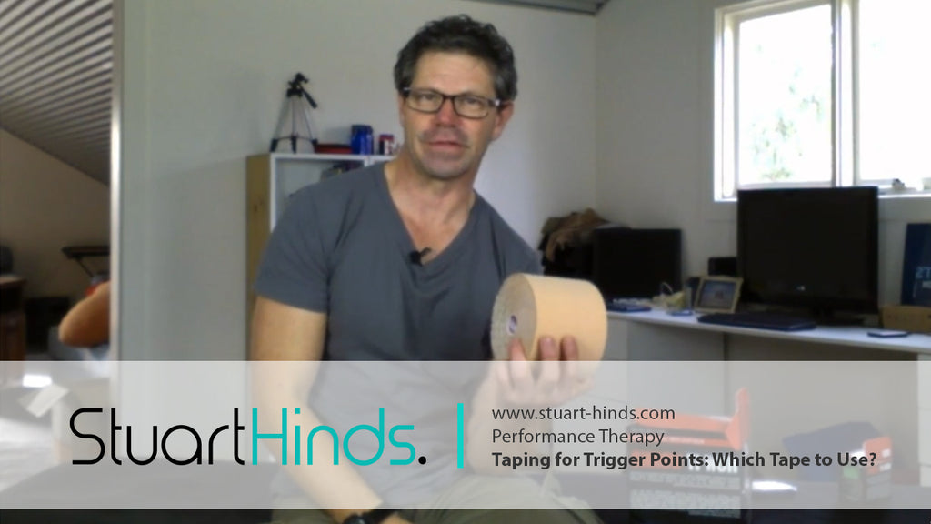 Taping for Trigger Points - Which Tape to Use?