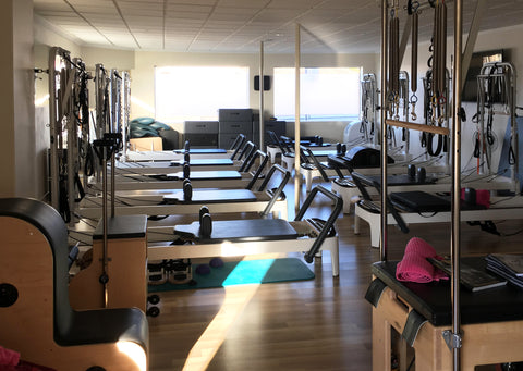 The Pilates room at Miracle Massage Pilates and Fitness in Goulburn