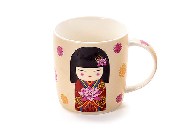 "MUG ""ANZU"" BLACK HAIR"