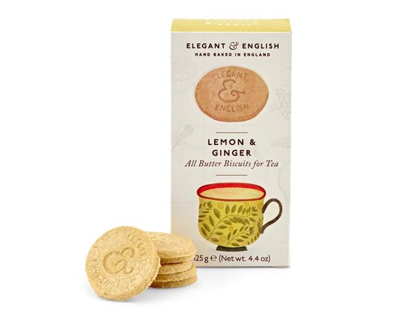 LEMON & GINGER - BUTTER BISCUITS