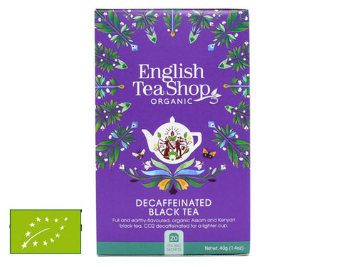 DECAFFEINATED BLACK TEA BIO