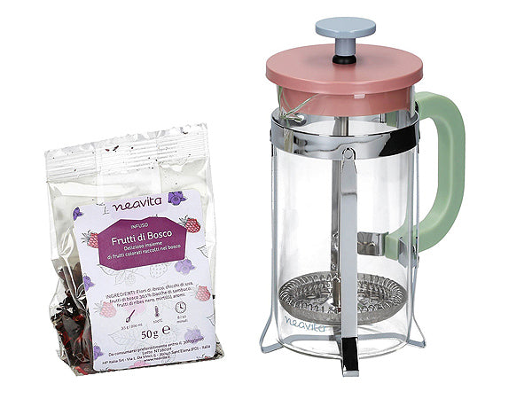 "FRENCH PRESS ""ROSA"" NEAVITA"