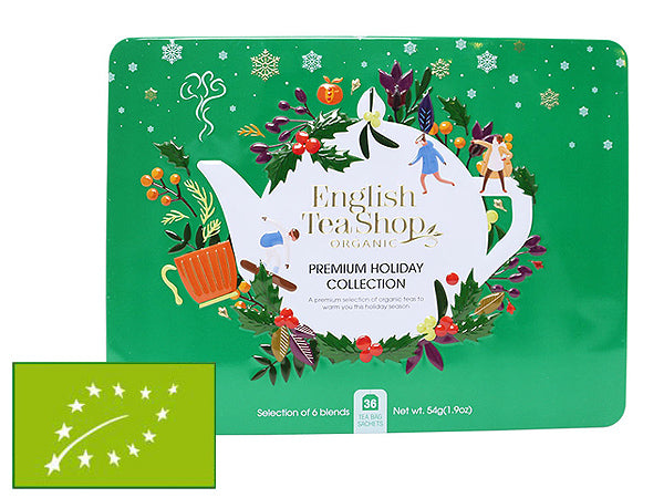 "COFANETTO BIO ""GREEN PREMIUM HOLIDAY COLLECTION"" SMALL - ENGLISH TEA SHOP"