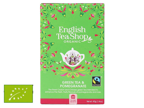 GREEN TEA & POMEGRANATE BIO