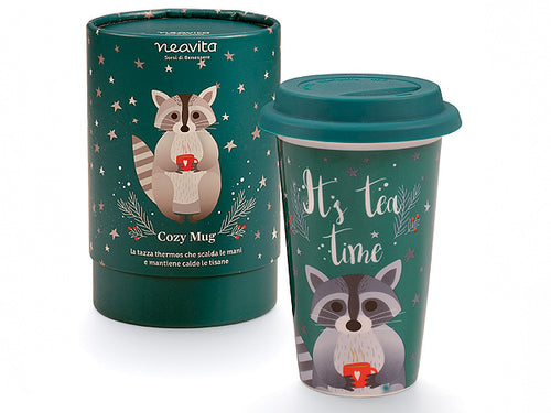 "MUG THERMOS ""WINTER FRIENDS"" PROCIONE - NEAVITA"