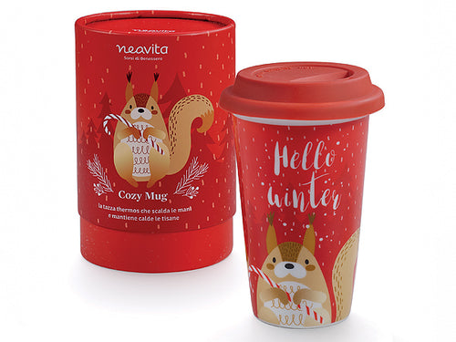"MUG THERMOS ""WINTER FRIENDS"" SCOIATTOLO - NEAVITA"