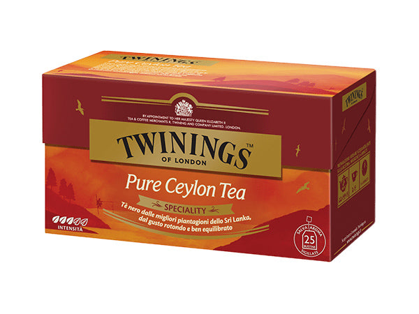 TÈ NERO - PURE CEYLON TEA - TWININGS