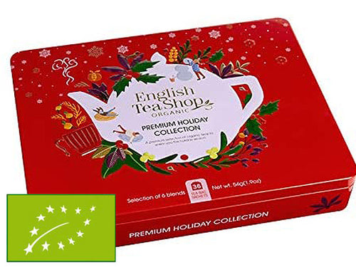 "COFANETTO BIO ""RED PREMIUM HOLIDAY COLLECTION"" SMALL - ENGLISH TEA SHOP"