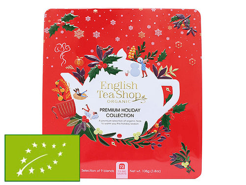 "COFANETTO BIO ""RED PREMIUM HOLIDAY COLLECTION"" BIG - ENGLISH TEA SHOP"