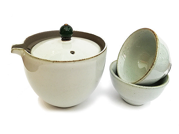 "SET GAIWAN ""LUCA"" GREEN & GREY"