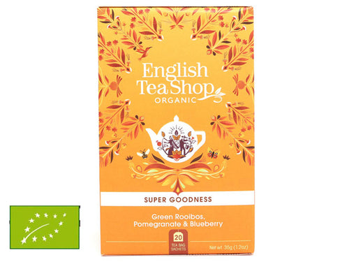 GREEN ROOIBOS, POMEGRANATE & BLUBERRY BIO