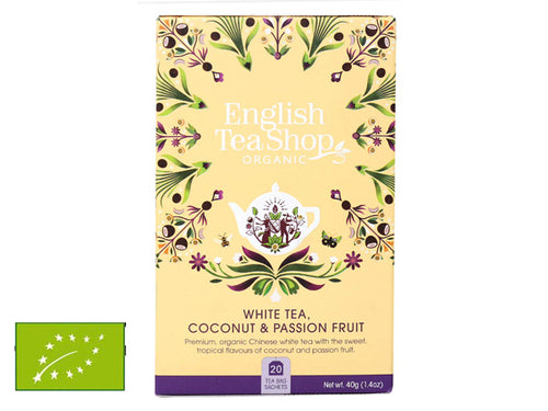 WHITE TEA, COCONUT & PASSION FRUIT BIO