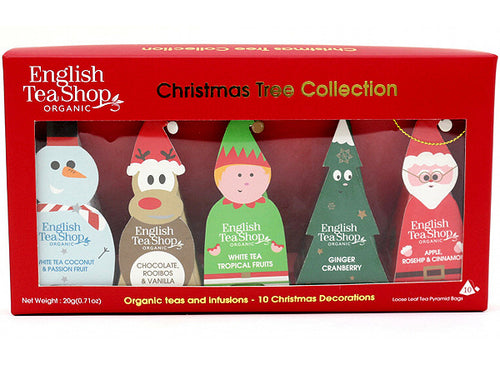 "COFANETTO BIO ""CHRISTMAS TREE COLLECTION"" - ENGLISH TEA SHOP"