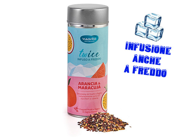 ARANCIA E MARACUJA - INFUSO IN LATTINA