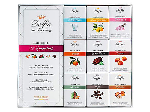 "COFANETTO ASSORTITO ""27 CHOCOLATS"" - DOLFIN"