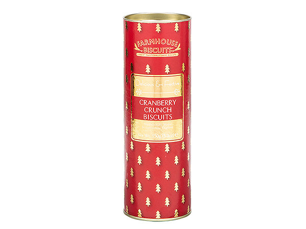 TUBO DI BISCOTTI INGLESI CRANBERRY CRUNCH - FARMHOUSE