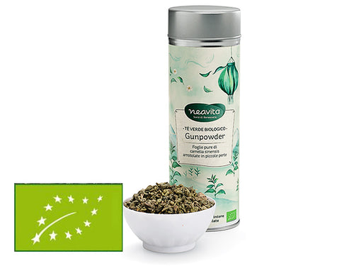 TÈ VERDE GUNPOWDER BIO - TÈ IN LATTINA