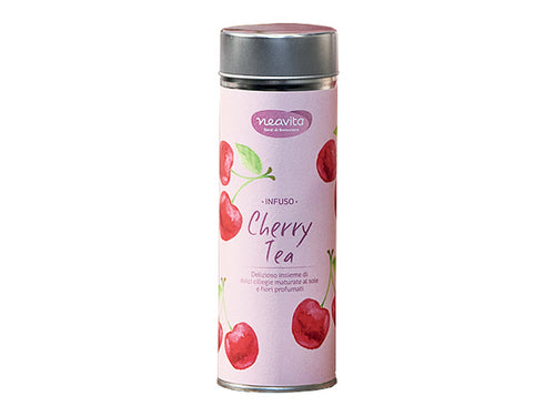 CHERRY TEA - INFUSO IN LATTINA