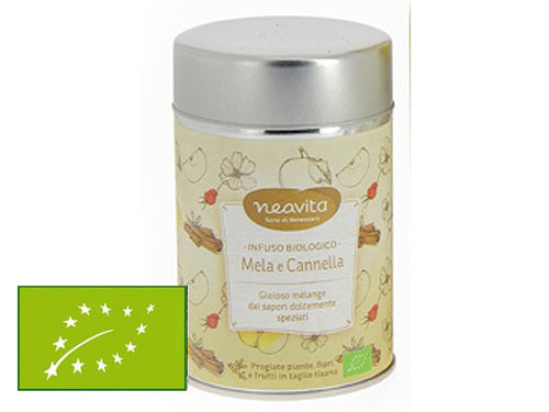 MELA E CANNELLA BIO - INFUSO IN LATTINA