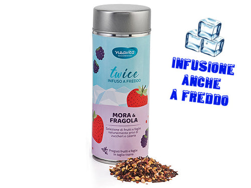 MORA E FRAGOLA - INFUSO IN LATTINA