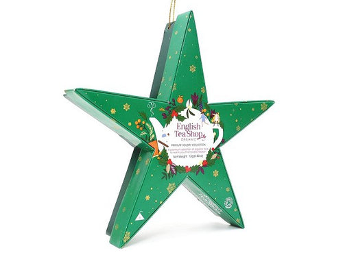 "COFANETTO ""GREEN STAR PYRAMIDS COLLECTION"" - ENGLISH TEA SHOP"