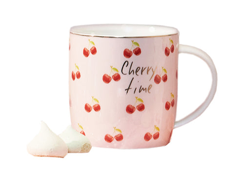 "MUG "" CHERRY TIME "" ROSA - NEAVITA"