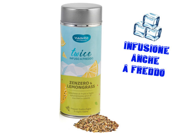 ZENZERO E LEMONGRASS - INFUSO IN LATTINA