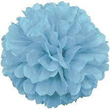 PUFF DECOR 40cm - POWDER BLUE