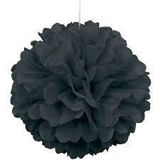 PUFF DECOR 30cm - BLACK