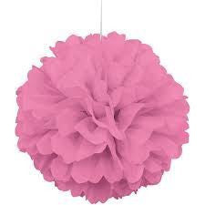PUFF DECOR 30cm - HOT PINK