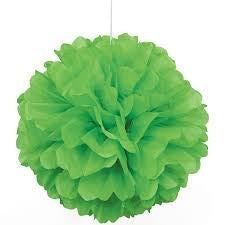 PUFF DECOR 30cm - LIME GREEN