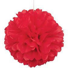 PUFF DECOR 30cm - RED