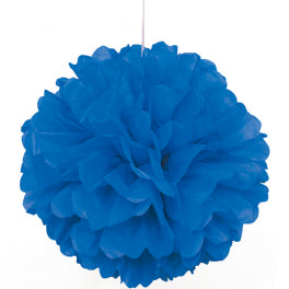 PUFF DECOR 30cm - ROYAL BLUE